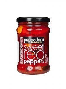 Перец красный сладкий фаршированный сыром 250г