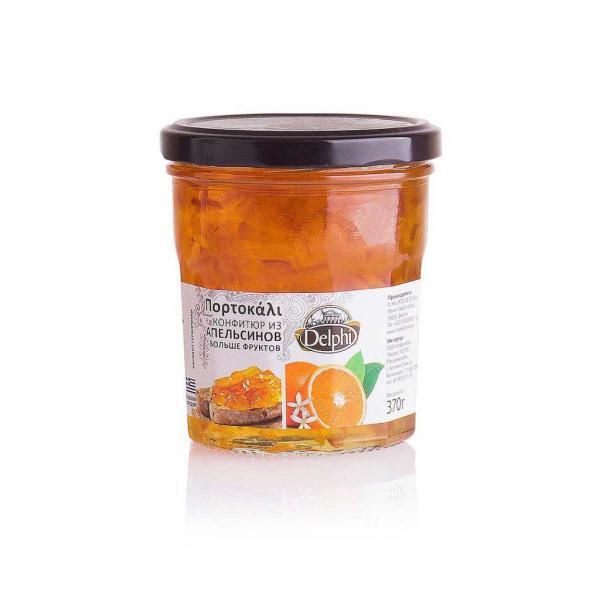 Конфитюр из апельсинов 370г