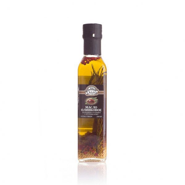 Масло оливковое Extra virgin с ароматическими травами 250г
