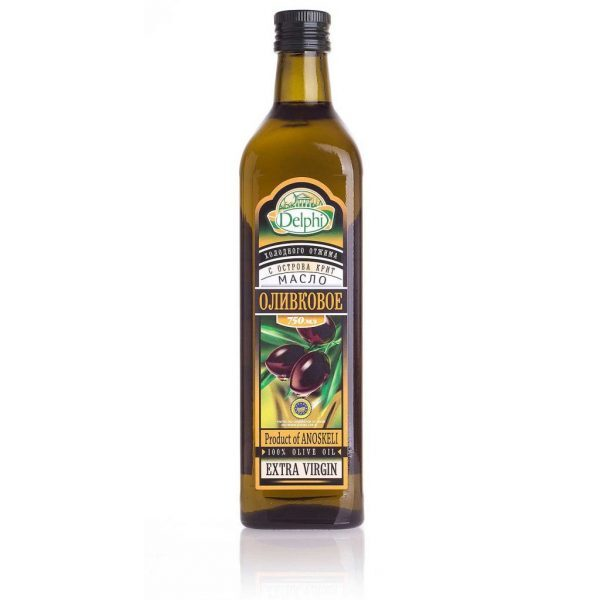 81.0001Масло оливковое Extra Virgin с о. Крит P.D.O. 750г