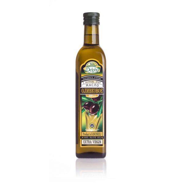 81.0002Масло оливковое Extra Virgin с о. Крит P.D.O. 500г