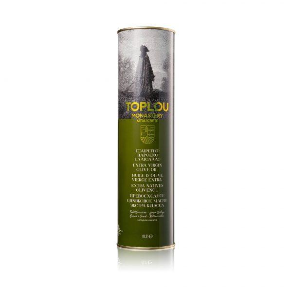 Масло оливковое Extra Virgin Монастырское TOPLOU 1л