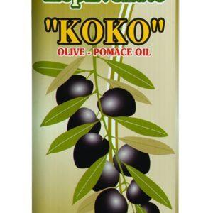 81.0087Масло оливковое POMACE Коко 5л
