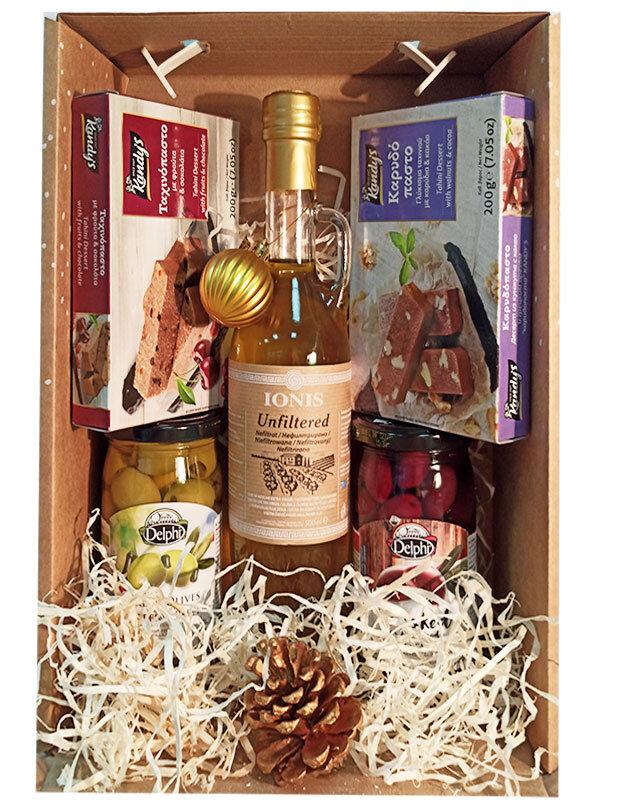 подарочная коробка на новый год 2