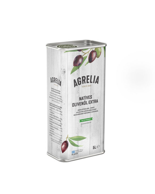 Масло оливковое Extra Virgin Agrelia Cretan Mill 5л