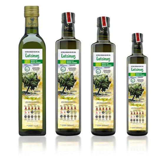 Масло оливковое Extra Virgin Latzimas Bio Organic 1л