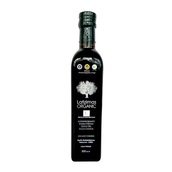Оливковое масло extra virgin Latzimas organic 500г