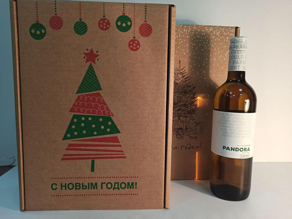 коробочка с вашим вином